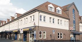 Gebäudeansicht Arztpraxis Dr. Lehenbauer-Dehm, Templin