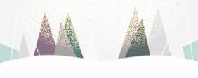 illustrierte Bäume, Winter, Schnee ©Cornelia Diefenbach